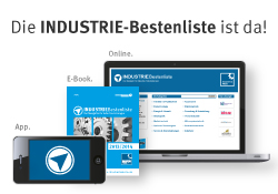 Illustration: Die Industrie-Bestenliste ist da!